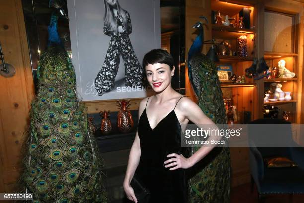 Actress Laura Glavan attends the Herring Herring Sequence Magazine Launch Party Cohosted by Susan Sarandon at the private residence of Jonas Tahlin...