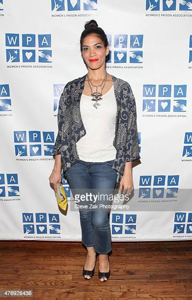 Actress Laura Gomez attends Orange Is The New Black Season 3 screening benefiting the Women's Prison Association at The Ainsworth on June 12 2015 in...