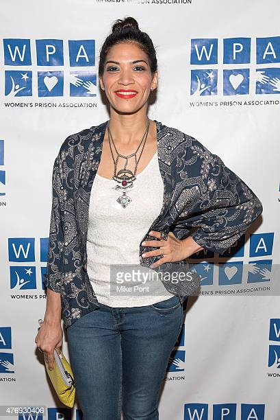 Actress Laura Gomez attends the Orange is the New Black season 3 premiere party benefiting the Women's Prison Association at The Ainsworth on June 12...