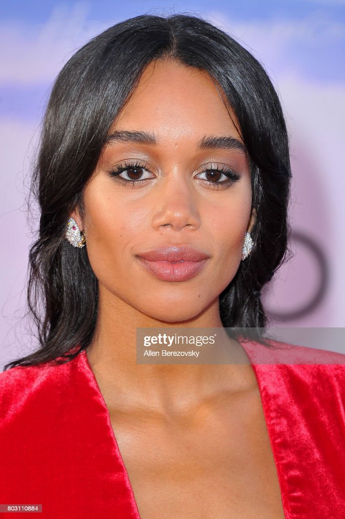 Actress Laura Harrier attends the premiere of Columbia Pictures' 'Spider-Man: Homecoming' at TCL Chinese Theatre on June 28, 2017 in Hollywood, California.