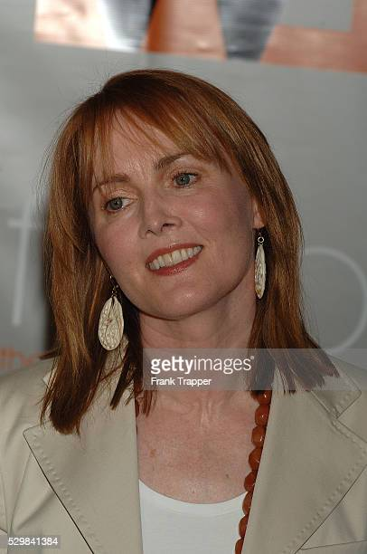 Actress Laura Innes arrives at the Women In Film Crystal Lucy Awards held at the Beverly Hilton Hotel