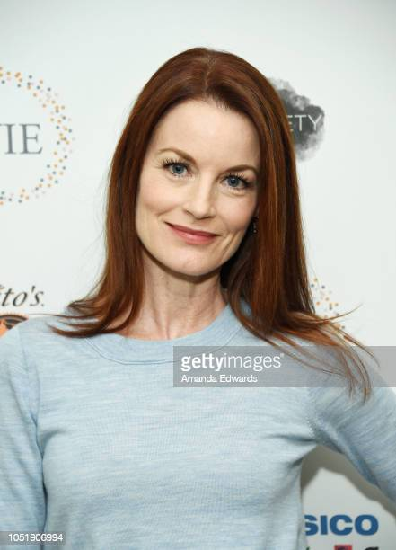 Actress Laura Leighton attends the Women In Entertainment's 4th Annual Summit at the Skirball Cultural Center on October 11 2018 in Los Angeles...