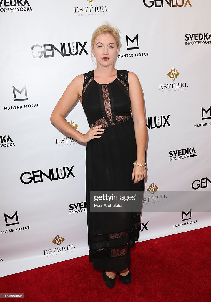 Actress Laura Linda Bradley attends the Genlux Magazine release party at Sofitel Hotel on August 29, 2013 in Los Angeles, California.