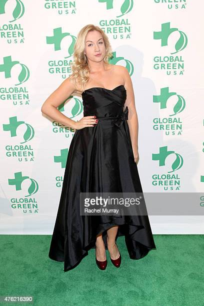 Actress Laura Linda Bradley attends the Global Green USA 19th Annual Millennium Awards on June 6 2015 in Century City California