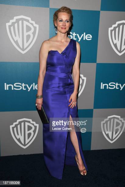 Actress Laura Linney arrives at the 13th Annual Warner Bros. And InStyle Golden Globe After Party held at The Beverly Hilton hotel on January 15,...