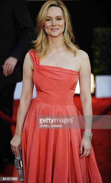 Actress Laura Linney arrives at the 15th Annual Screen Actors Guild Awards at the Shrine Auditorium in Los Angeles California on January 25 2009 AFP...