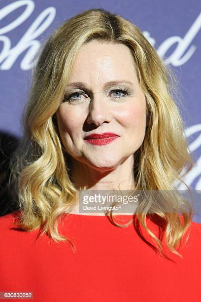 Actress Laura Linney arrives at the 28th Annual Palm Springs International Film Festival Film Awards Gala at the Palm Springs Convention Center on...