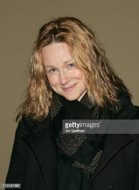 Actress Laura Linney arrives at the 4th Annual Stella by Starlight Gala Benefit Honoring Martin Sheen at Chipriani 23rd st on March 17, 2008 in New...