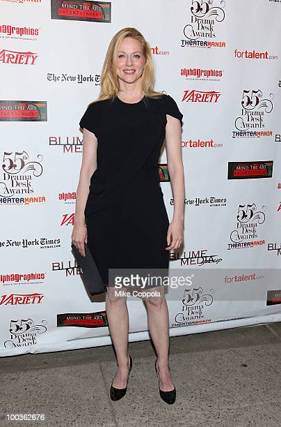 Actress Laura Linney arrives at the 55th Annual Drama Desk Awards at the FH LaGuardia Concert Hall at Lincoln Center on May 23 2010 in New York City