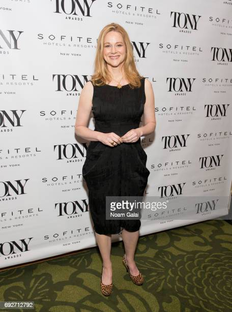 Actress Laura Linney attends the 2017 Tony Honors cocktail party at Sofitel Hotel on June 5 2017 in New York City