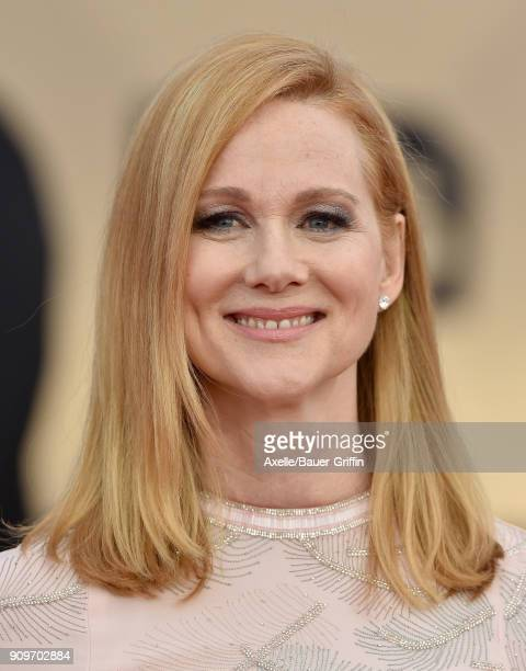 Actress Laura Linney attends the 24th Annual Screen Actors Guild Awards at The Shrine Auditorium on January 21 2018 in Los Angeles California