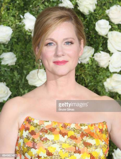 Actress Laura Linney attends the 71st Annual Tony Awards at Radio City Music Hall on June 11 2017 in New York City
