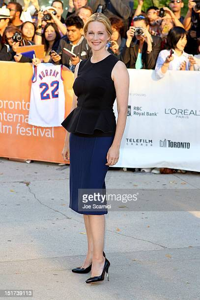 Actress Laura Linney attends the Hyde Park On Hudson premiere during the 2012 Toronto International Film Festival at Roy Thomson Hall on September 10...