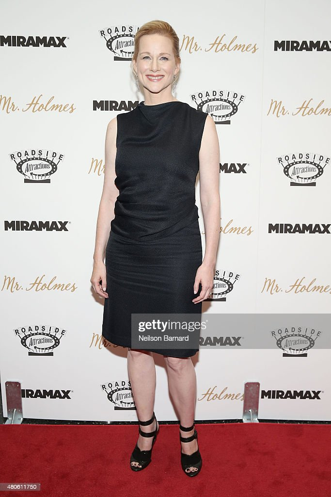 Actress Laura Linney attends the New York premiere of 'Mr. Holmes' at Museum of Modern Art on July 13, 2015 in New York City.