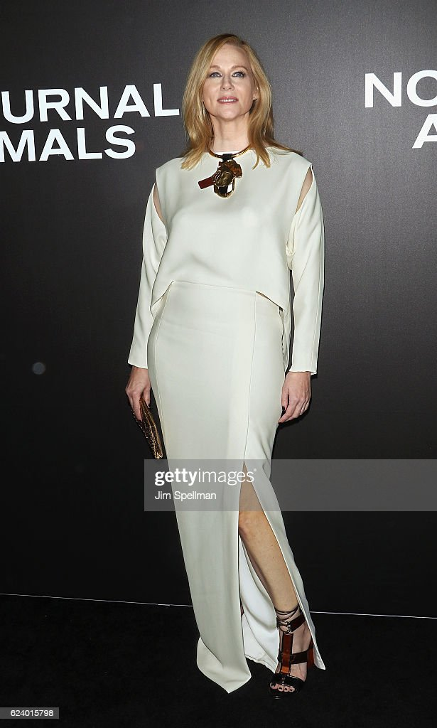 Actress Laura Linney attends the 'Nocturnal Animals' New York premiere at The Paris Theatre on November 17, 2016 in New York City.
