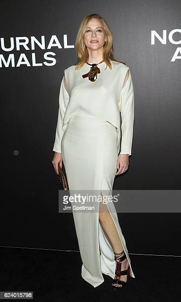 Actress Laura Linney attends the 'Nocturnal Animals' New York premiere at The Paris Theatre on November 17 2016 in New York City