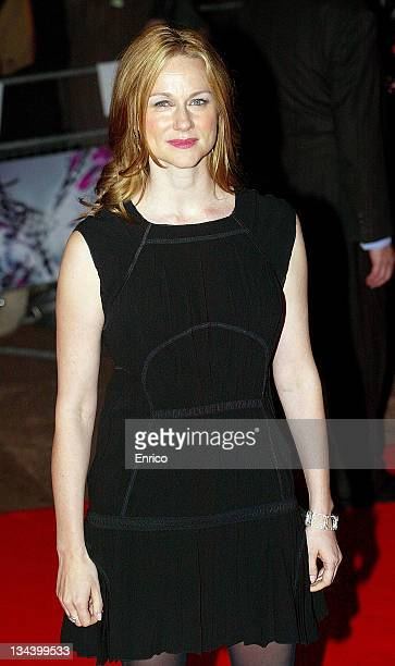 Actress Laura Linney attends the 'The Savages' Screening at the Odion West End on October 29 2007 in London England