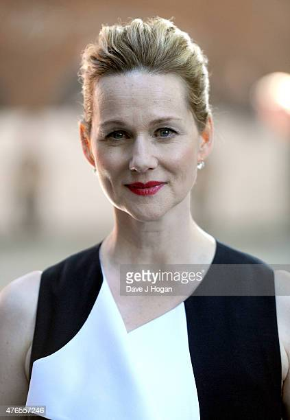 Actress Laura Linney attends the UK Premiere of Mr Holmes at the Odeon Kensington on June 10 2015 in London England