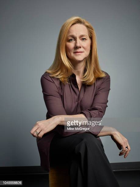Actress Laura Linney is photographed for The Observer Magazine on May 17 2018 in New York City