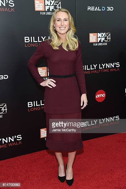 Actress Laura Lundy Wheale attends Billy Lynn's Long Halftime Walk during 54th New York Film Festival at AMC Lincoln Square Theater on October 14...