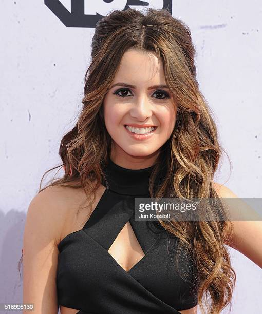 Actress Laura Marano arrives at iHeartRadio Music Awards on April 3 2016 in Inglewood California
