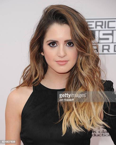 Actress Laura Marano arrives at the 2016 American Music Awards at Microsoft Theater on November 20 2016 in Los Angeles California