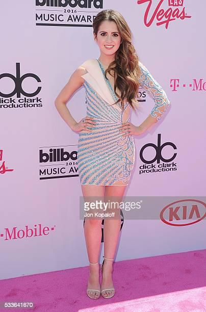 Actress Laura Marano arrives at the 2016 Billboard Music Awards at TMobile Arena on May 22 2016 in Las Vegas Nevada
