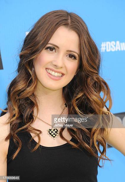 Actress Laura Marano arrives at the DoSomethingorg and VH1's 2013 Do Something Awards at Avalon on July 31 2013 in Hollywood California