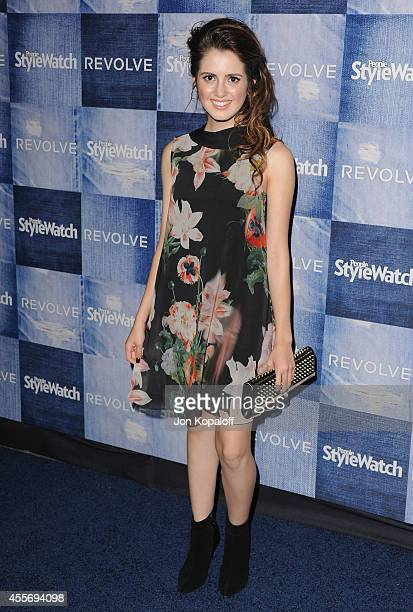Actress Laura Marano arrives at the People StyleWatch 4th Annual Denim Awards Issue at The Line on September 18, 2014 in Los Angeles, California.