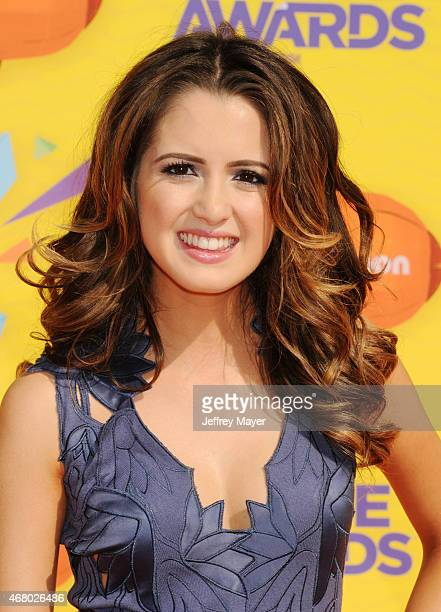 Actress Laura Marano attends Nickelodeon's 28th Annual Kids' Choice Awards held at The Forum on March 28 2015 in Inglewood California