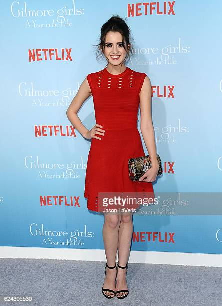 Actress Laura Marano attends the premiere of Gilmore Girls A Year in the Life at Regency Bruin Theatre on November 18 2016 in Los Angeles California