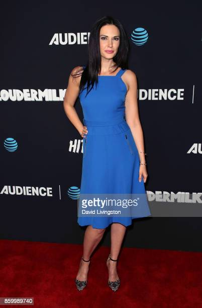 Actress Laura Mennell attends the premiere of ATT Audience Network's 'Loudermilk' and 'Hit The Road' at ArcLight Cinemas on October 10 2017 in...