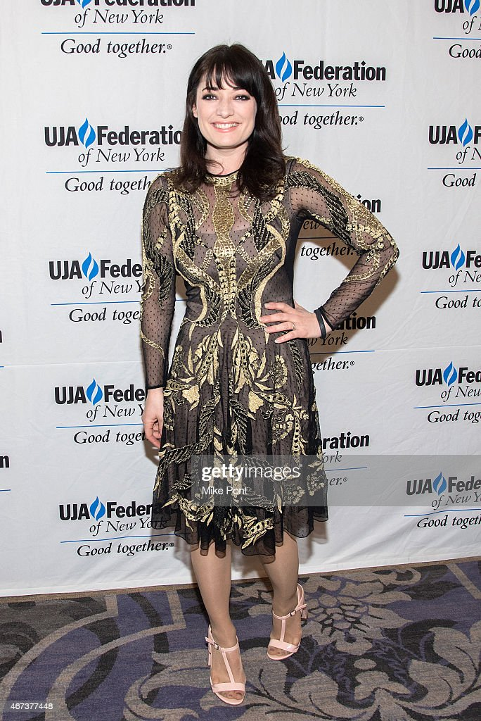 Actress Laura Michelle Kelly attends the 2015 UJA Federation Of New York Excellence In Theater Award Dinner at The St Regis New York on March 23, 2015 in New York City.