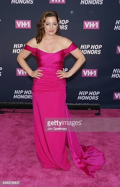 Actress Laura Michelle Kelly attends the 2016 VH1 Hip Hop Honors All Hail The Queens at David Geffen Hall on July 11 2016 in New York City