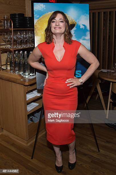 Actress Laura Michelle Kelly attends the Dinner Honoring the Women of Pixels at Upland on July 20 2015 in New York City