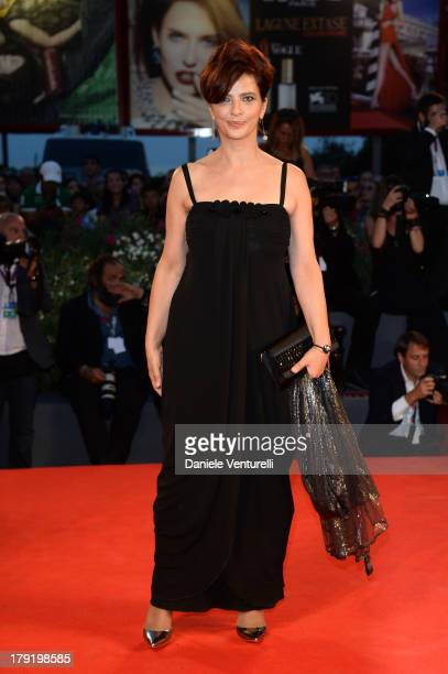 Actress Laura Morante attends Premio Kineo Red Carpet during the 70th Venice International Film Festival at Palazzo del Cinema on September 1 2013 in...