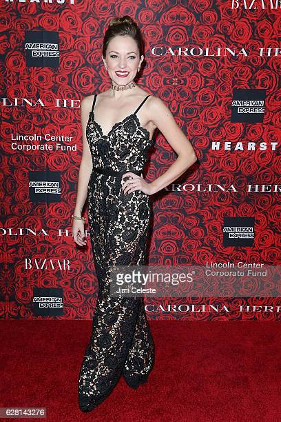 Actress Laura Osnes attends Lincoln Center Corporate Fund Presents An Evening Honoring Carolina Herrera at Alice Tully Hall on December 6 2016 in New...