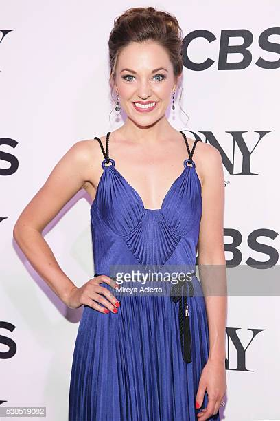 Actress Laura Osnes attends the 2016 Tony Honors Cocktail Party at The Diamond Horseshoe on June 6 2016 in New York City