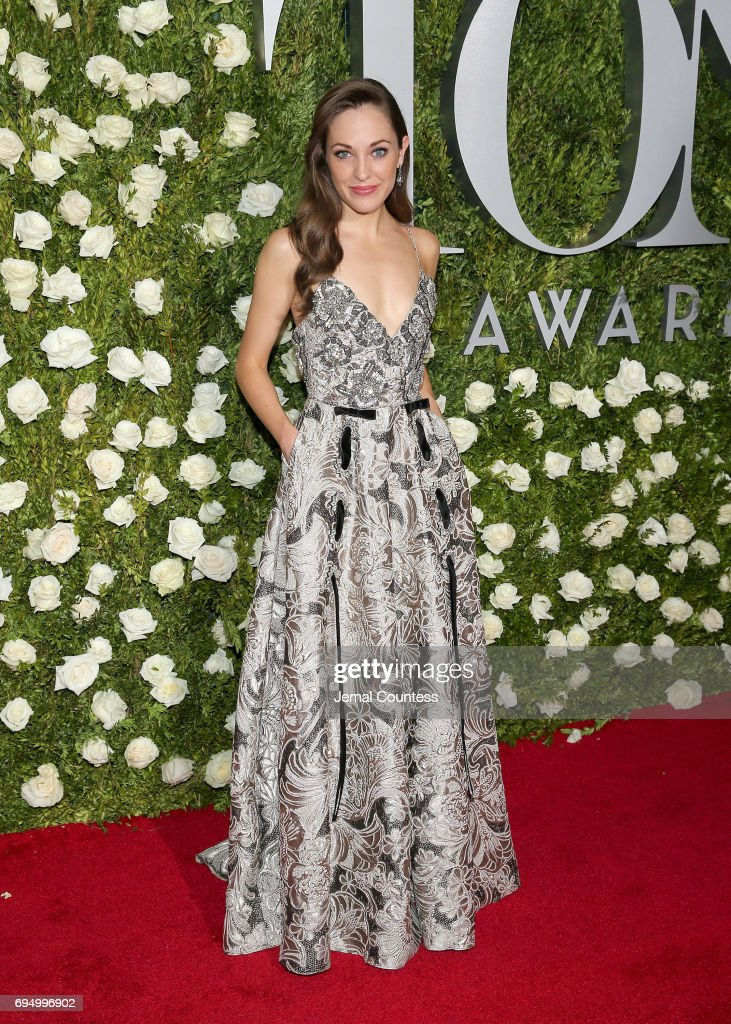 Actress Laura Osnes attends the 2017 Tony Awards at Radio City Music Hall on June 11, 2017 in New York City.