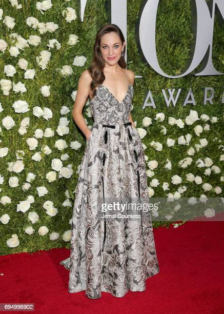Actress Laura Osnes attends the 2017 Tony Awards at Radio City Music Hall on June 11 2017 in New York City