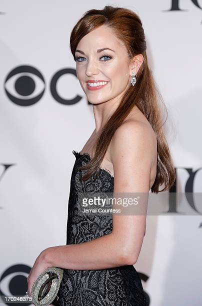 Actress Laura Osnes attends The 67th Annual Tony Awards at Radio City Music Hall on June 9 2013 in New York City