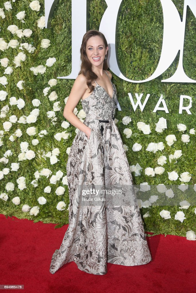 Actress Laura Osnes attends the 71st Annual Tony Awards at Radio City Music Hall on June 11, 2017 in New York City.
