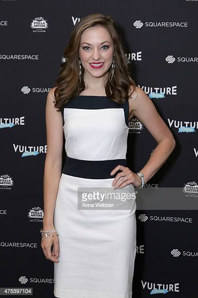 Actress Laura Osnes attends the Vulture Festival At Milk Studios on May 31 2015 in New York City