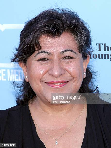 Actress Laura Patalano attends the screening of Mance Media's 'The Young Kieslowski' at the Vista Theatre on July 14 2015 in Los Angeles California