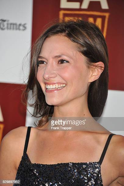 Actress Laura Perloe arrives the the 2012 Los Angeles Film Festival Premiere of Seeking A Friend for the End of the World held at the Regal Cinemas...