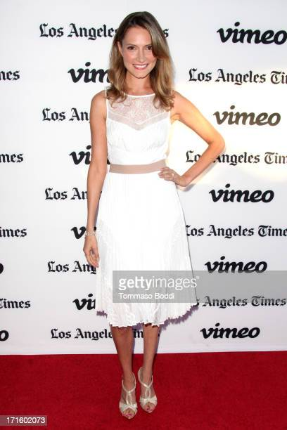 Actress Laura Perloe attends the Some Girl Los Angeles premiere held at Laemmle NoHo 7 on June 26 2013 in North Hollywood California