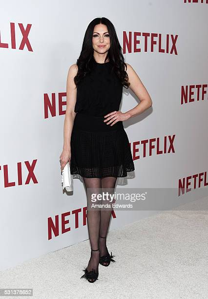 Actress Laura Prepon arrives at the Netflix's Rebels and Rule Breakers Luncheon and Panel Celebrating The Women of Netflix at the Beverly Wilshire...