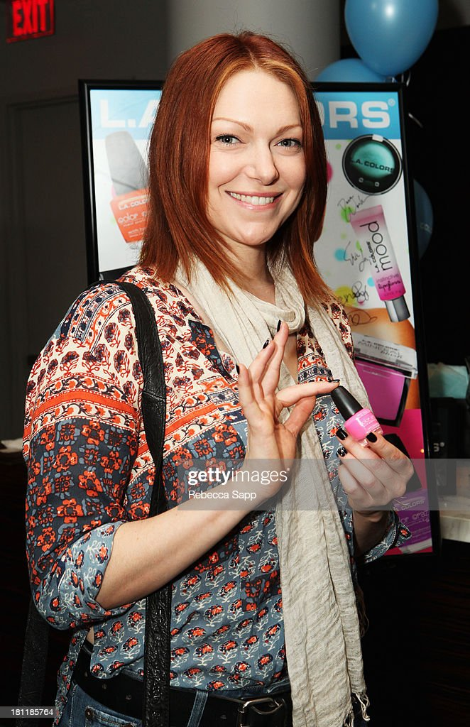 Actress Laura Prepon attends Kari Feinstein's Pre-Emmy Style Lounge at the Andaz Hotel on September 19, 2013 in Los Angeles, California.