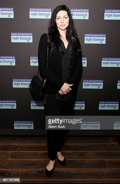 Actress Laura Prepon attends Kari Feinstein's PreGolden Globes Style Lounge at Andaz West Hollywood on January 8 2015 in West Hollywood California