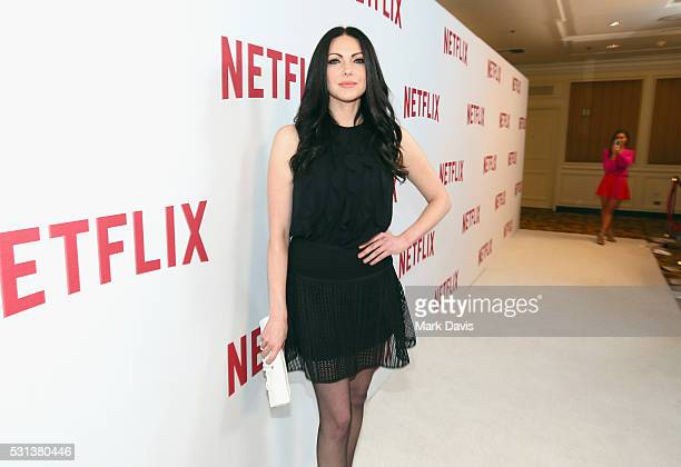 Actress Laura Prepon attends Netflix's Rebels and Rule Breakers Luncheon and Panel Celebrating The Women of Netflix at the Beverly Wilshire Four...